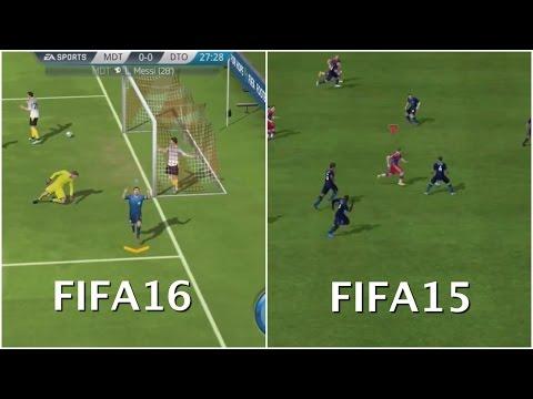 [Mobile] FIFA 16(FIFA Mobile) - FIFA 15 Graphics Comparison (iOS / Android)