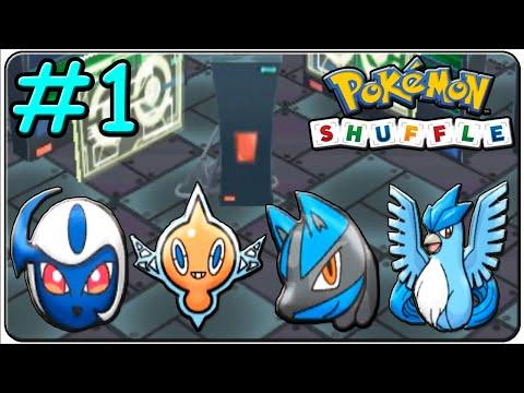 Pokémon Shuffle 100% Walkthrough (Stage EX 1,2,3 & 4)