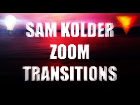 How to: Zoom Transitions (Sam Kolder Inspired) - Hitfilm Express 2017