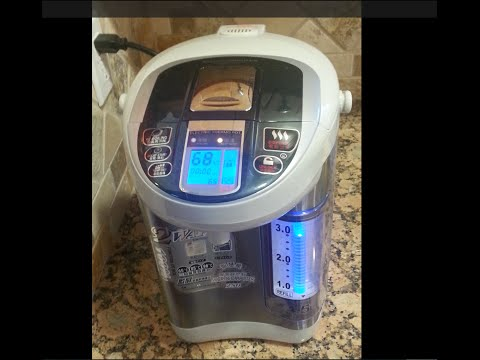 Crown 4.5L Electric Thermo Water Pot BM-45D Unboxing and Review - Truly high-tech!