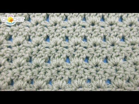 Primrose Crochet Stitch - Calendar Blanket - February