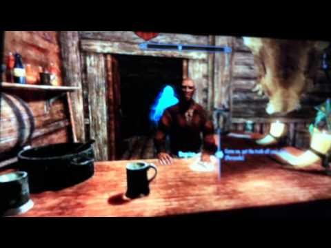 Skyrim quick speech increase and level up tip