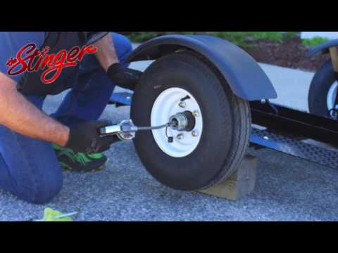 How to Properly Grease a Trailer Tire/Hub