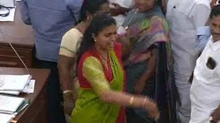Actress Roja Goes Vulgar in AP Assembly