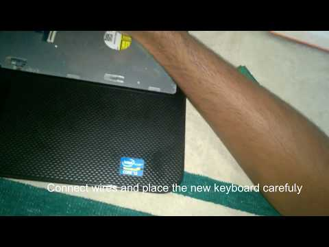 How to replace keyboard of dell Inspiron 15 3521 laptop