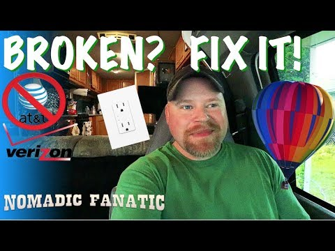 Electrical Work, Phone Changes, & Hot Air Balloons