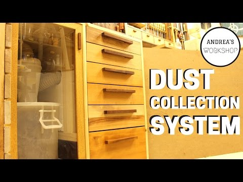 Dust collection System for small Workshop w/storage - Ep 061