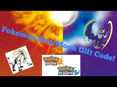 Pokemon Sun/Moon mystery gift code! FREE STUFF!