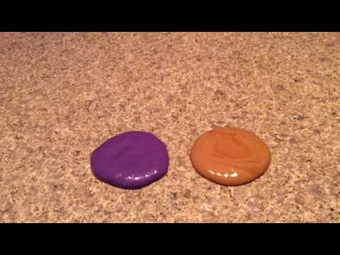 How To Make Peanut Butter And Jelly Slime