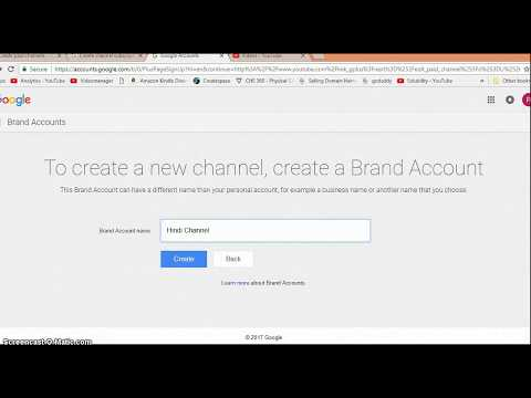 Video - How to make your YouTube channel a paid channel?