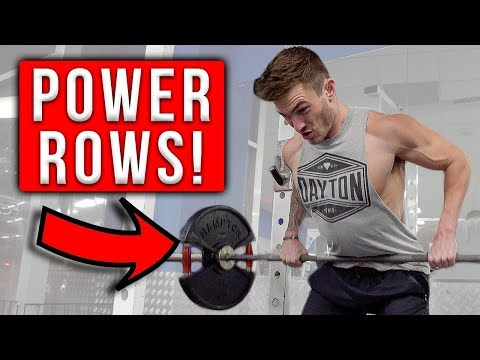 One Exercise for a Bigger Stronger Back (POWER ROWS!)