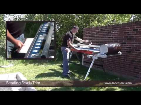 How To - Bend a Fascia Trim