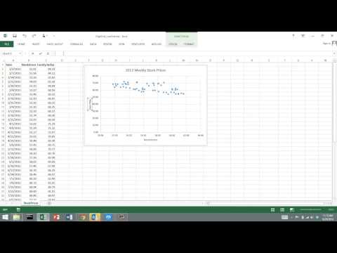 Basic Regression with Excel 2013