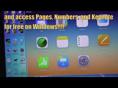 Web iWork suite accessible on Windows