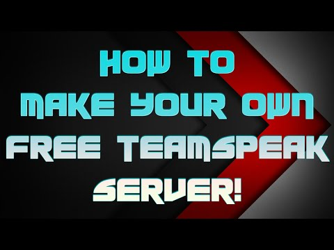 How to Make Your Own Free TS3 Server!