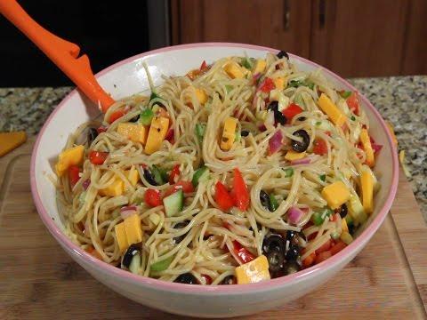 Spaghetti Salad - SALADS & SLAWS