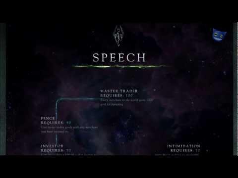 Skyrim Skills - Speech Skill Tree