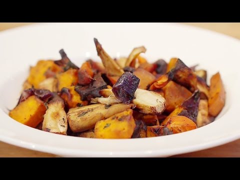 Overcoming MS – No-Oil Roasted Vegetables