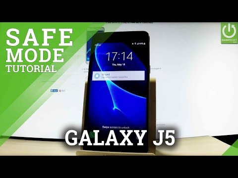 Safe Mode SAMSUNG Galaxy J5 (2016) - Enter / Quit Safe Mode