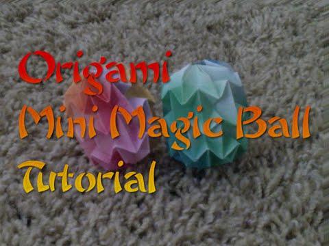 Origami Mini Magic Ball Tutorial