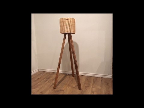 Modern Tripod Lamp | Two 2x4 Challenge | NelsoncraftTX