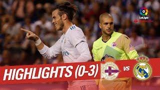 Resumen de RC Deportivo vs Real Madrid (0-3)