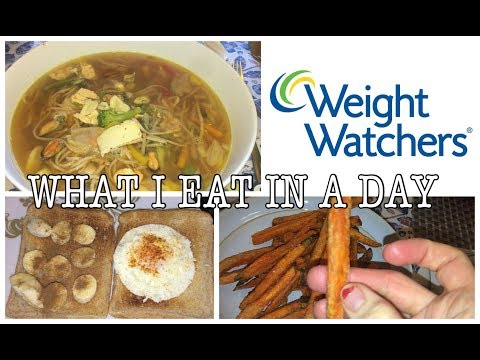 WHAT I EAT IN A DAY ON WEIGHT WATCHERS FLEX PLAN | My Fashion Cupboard Baby