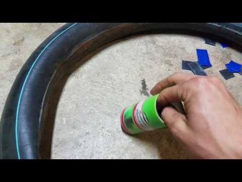 How To Patch a Tire Inner Tube -- Motorcycle Tube Repair