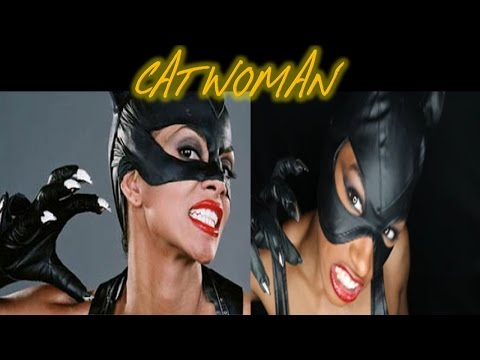 Halloween Makeup : CAT WOMAN | Halle Berry Inspired Costumes | Part 2 of 3 "|480|360|?|b5da56cdff15a7baf445791ecb135eb0|False|UNSURE|0.3275948762893677