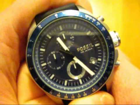 My new Fossil Decker CH2691 Chronograph Watch