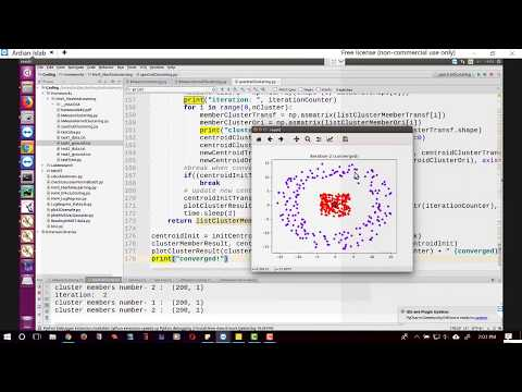 Spectral Clustering from the Scratch using Python