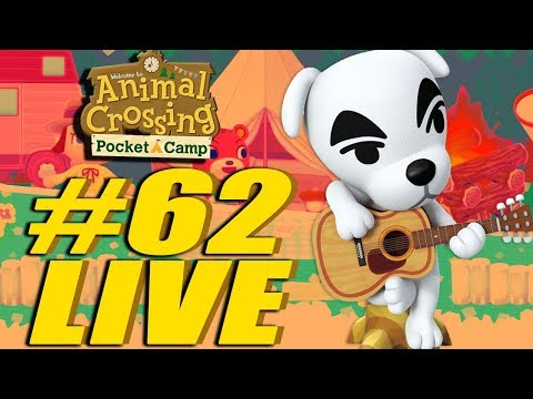 Hello Campers! Animal Crossing Pocket Camp LIVE