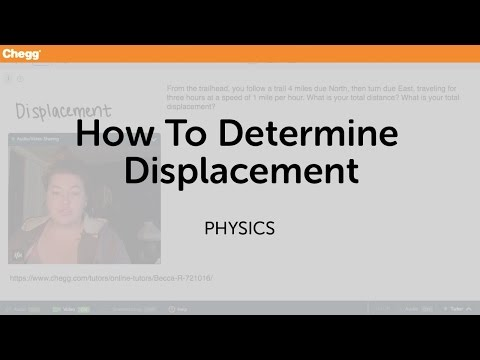 How to Determine Displacement | Physics | Chegg Tutors