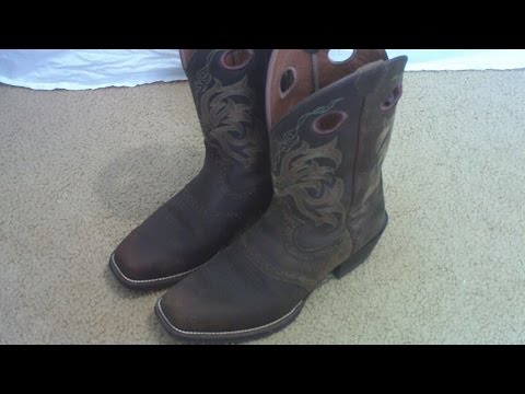 Justin Western Rawhide Boot Review