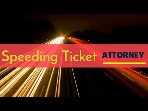 PA Traffic Ticket Lawyer Costs - Speeding Ticket Attorney Fees PA