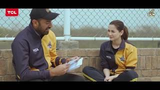 Hania Aamir & Wahab Riaz Rapid Fire Round | TCL Pakistan