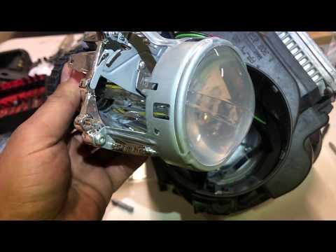 DIY: mk5 Gti/ Gli clear projector lense swap