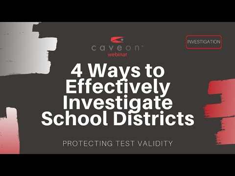 Four Steps to Conducting Effective Investigations in School Districts