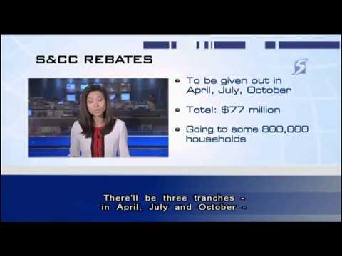 800,000 S'porean households set to receive S$77m worth of S&CC rebates - 28Mar2013