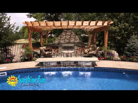 Swimming Pools Designs College Station | Outdoor Fireplaces and Fire Pits