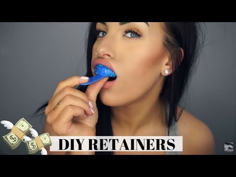 DIY RETAINERS!! MAKE THEM AT HOME & SAVE MONEY (Just Retainers Collab) | Chels Nichole