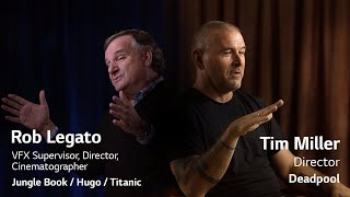 What Hollywood filmmakers, Tim Miller and Rob Legato say about LG OLED TV (Wallpaper TV)