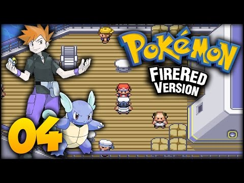 Pokémon: FireRed - Episode 4 - Vermilion City & S.S. Anne!