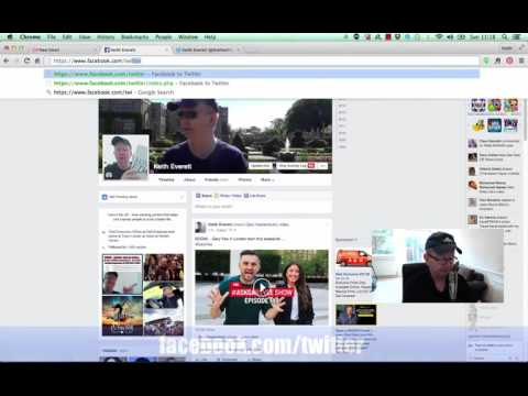 How to Auto Post From Facebook to Twitter | Facebook Posts Posting Twitter