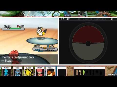 Pokémon White 2 - Gym Leader Elesa