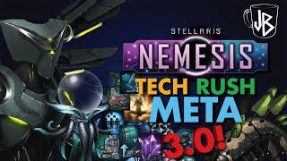 Stellaris   3.0 Machine Tech Rush   800+ Research in 30 Years   (Guide to Traits, Civics, Origins)