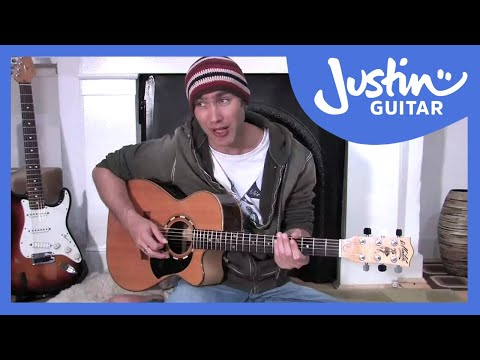 Picking Individual Strings (Guitar Lesson BC-166) Guitar for beginners Stage 6