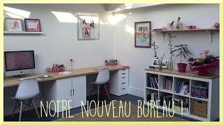 New home office ikea desk hack
