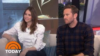 Felicity Jones And Armie Hammer Talk New Ruth Bader Ginsburg Film | TODAY