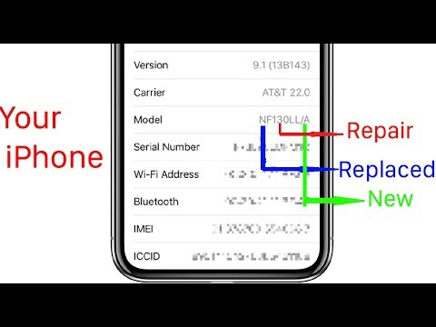 Identify Your iPhone is Repaired, Replacement, Personalized, or New.
